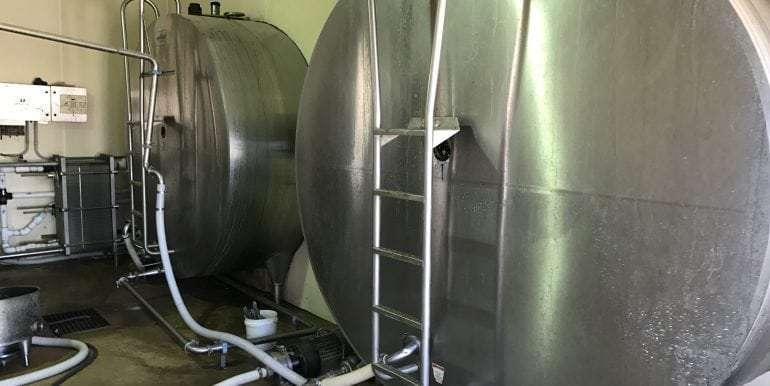 Goldthwaite Dairy Milk Tanks