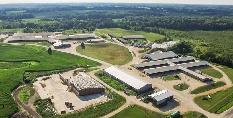 2,738 Acres Dairy & Farmland, Battle Creek, MI