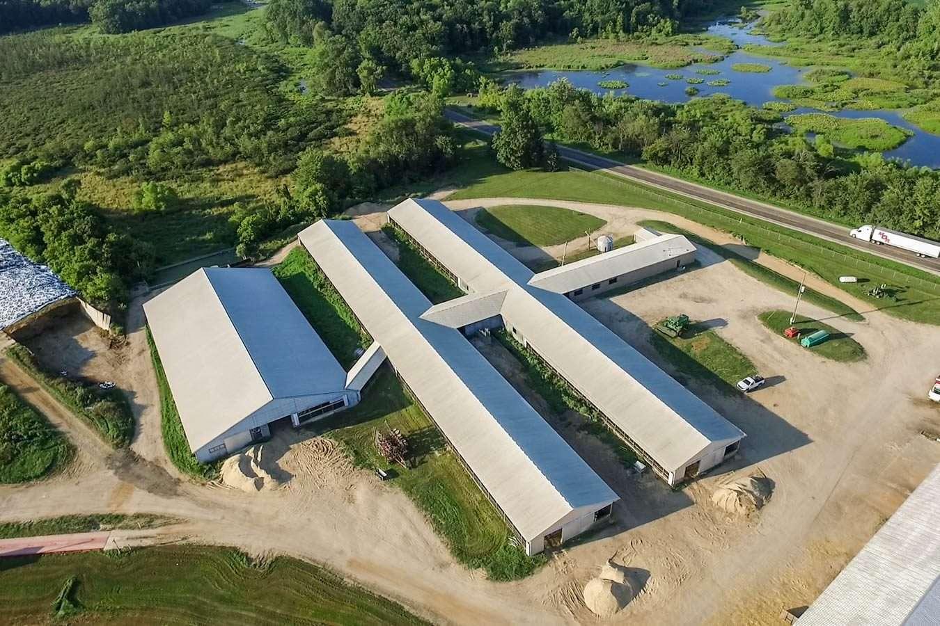 2,826 Acres Dairy & Farmland, Battle Creek, MI