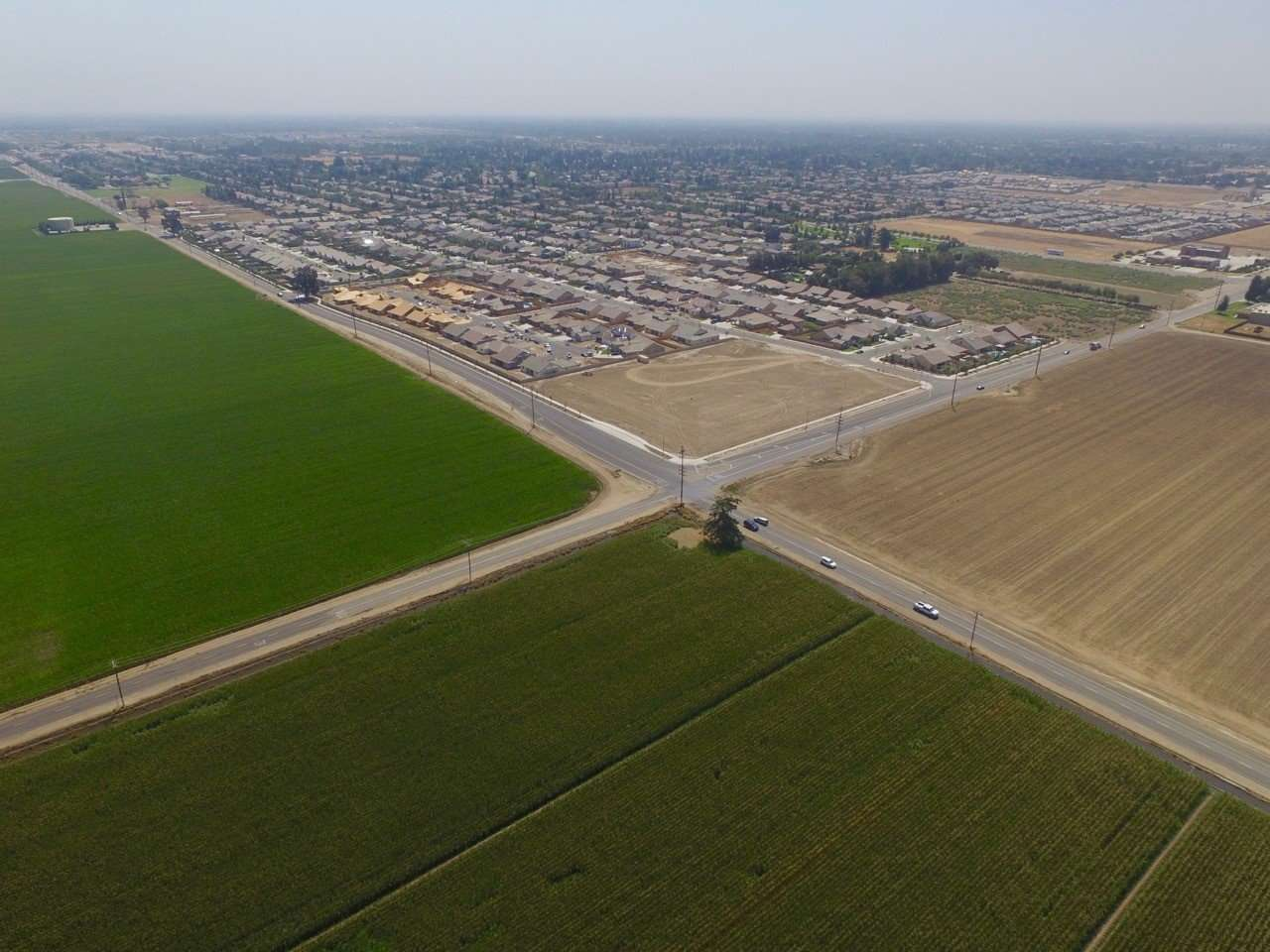 284 Acres Open Land, North Visalia