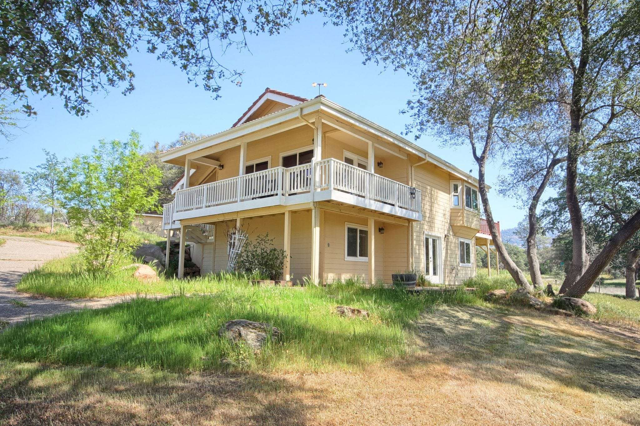 40 Ac. House, Barn, Guest Quarters and Grazing Land, Coarsegold