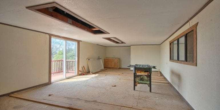 Room above barn