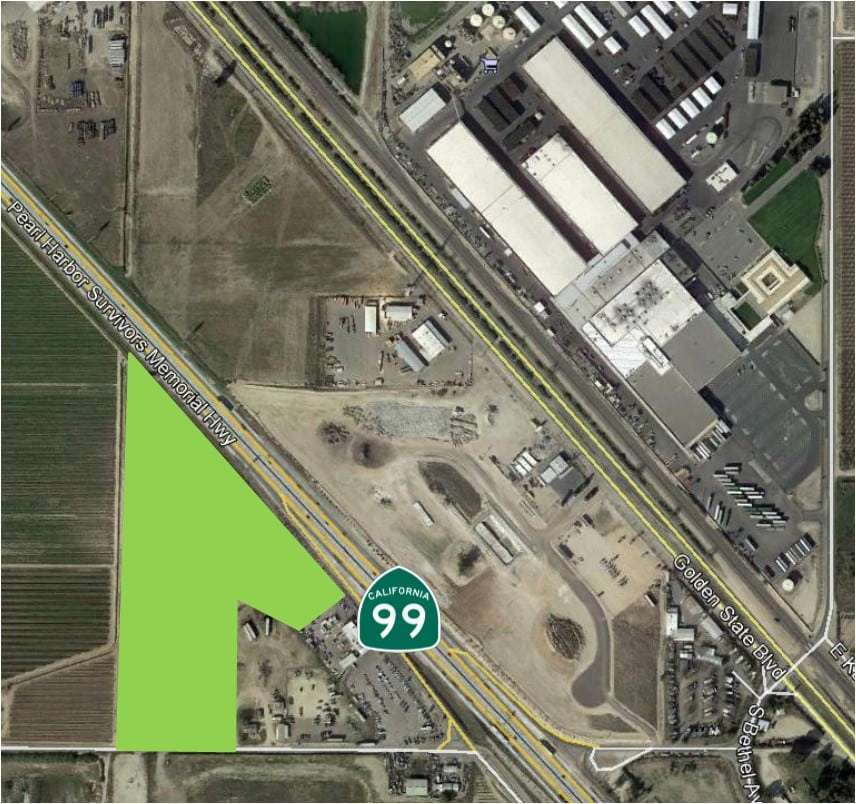 14.59 Ac. C6 Zoned Freeway Frontage, Kingsburg