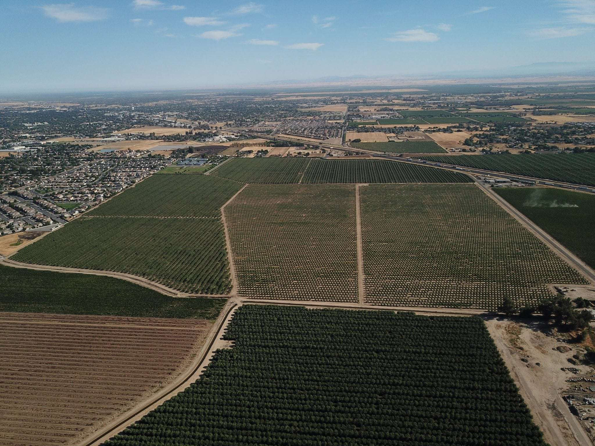 237 Acres Residential Subdivision/Almonds in Madera, CA