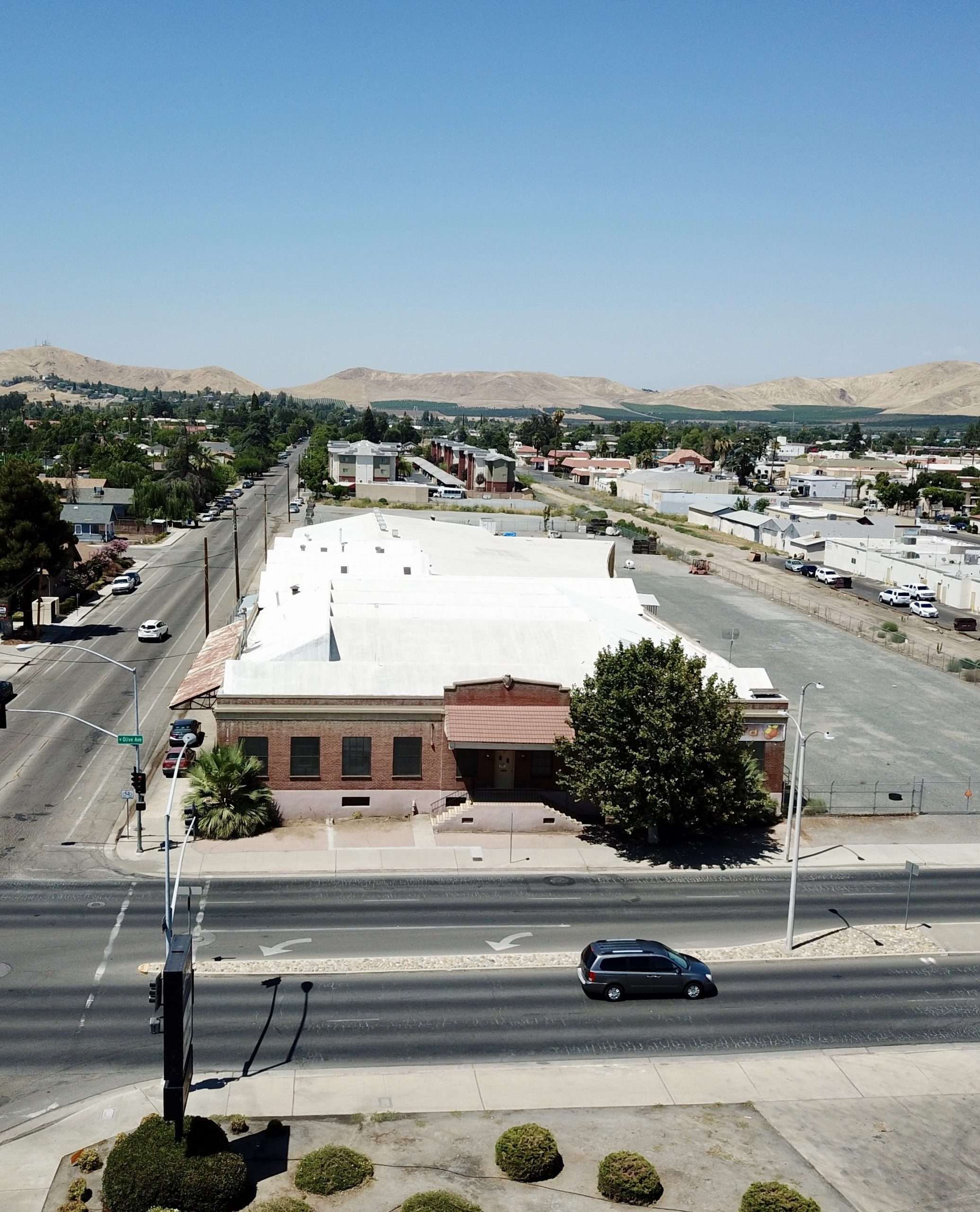 Downtown Porterville Warehouse