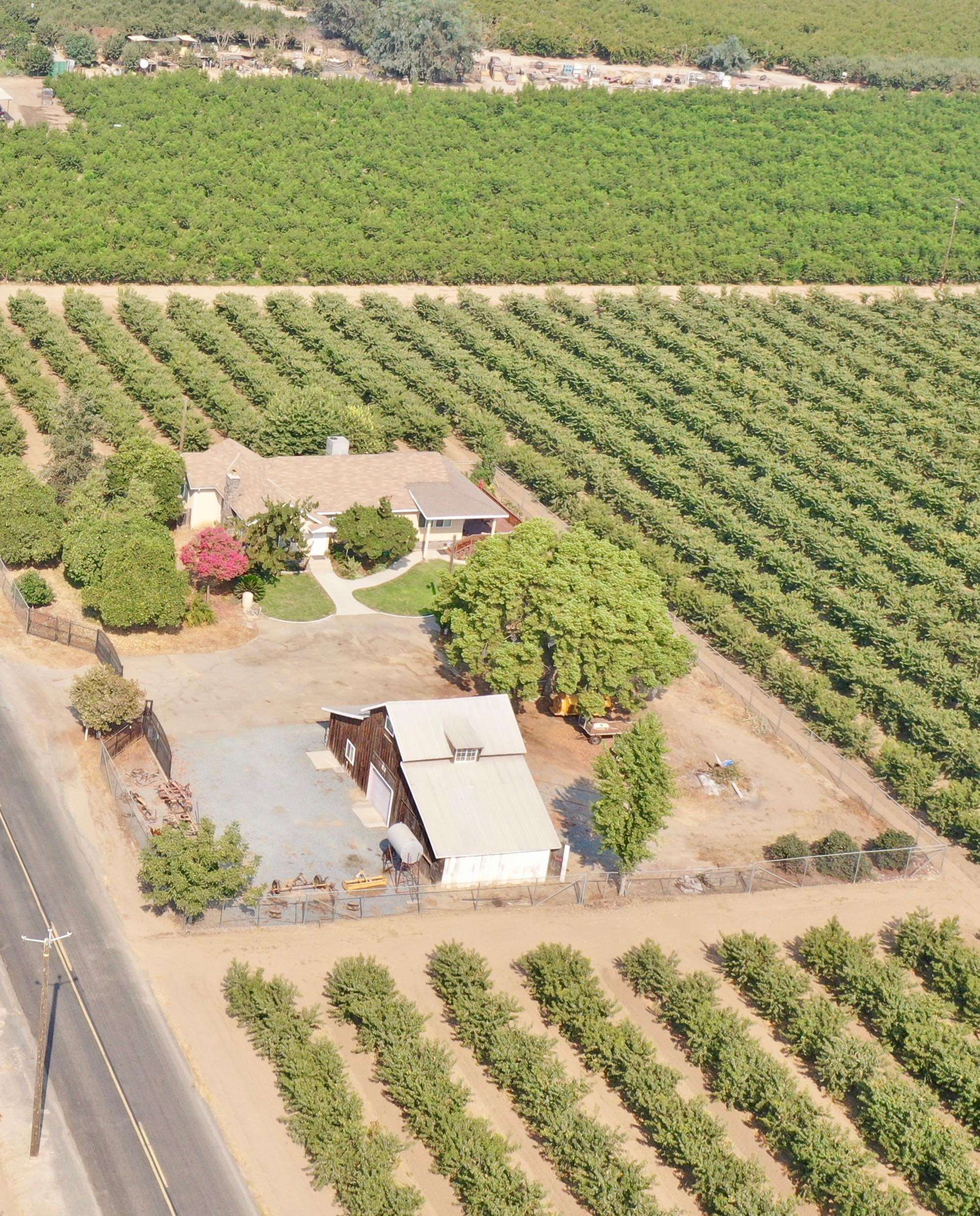 20 Acres Peaches & Vines with a Home – Kingsburg, CA