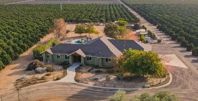 +/-40 Acres – Citrus and Custom Home