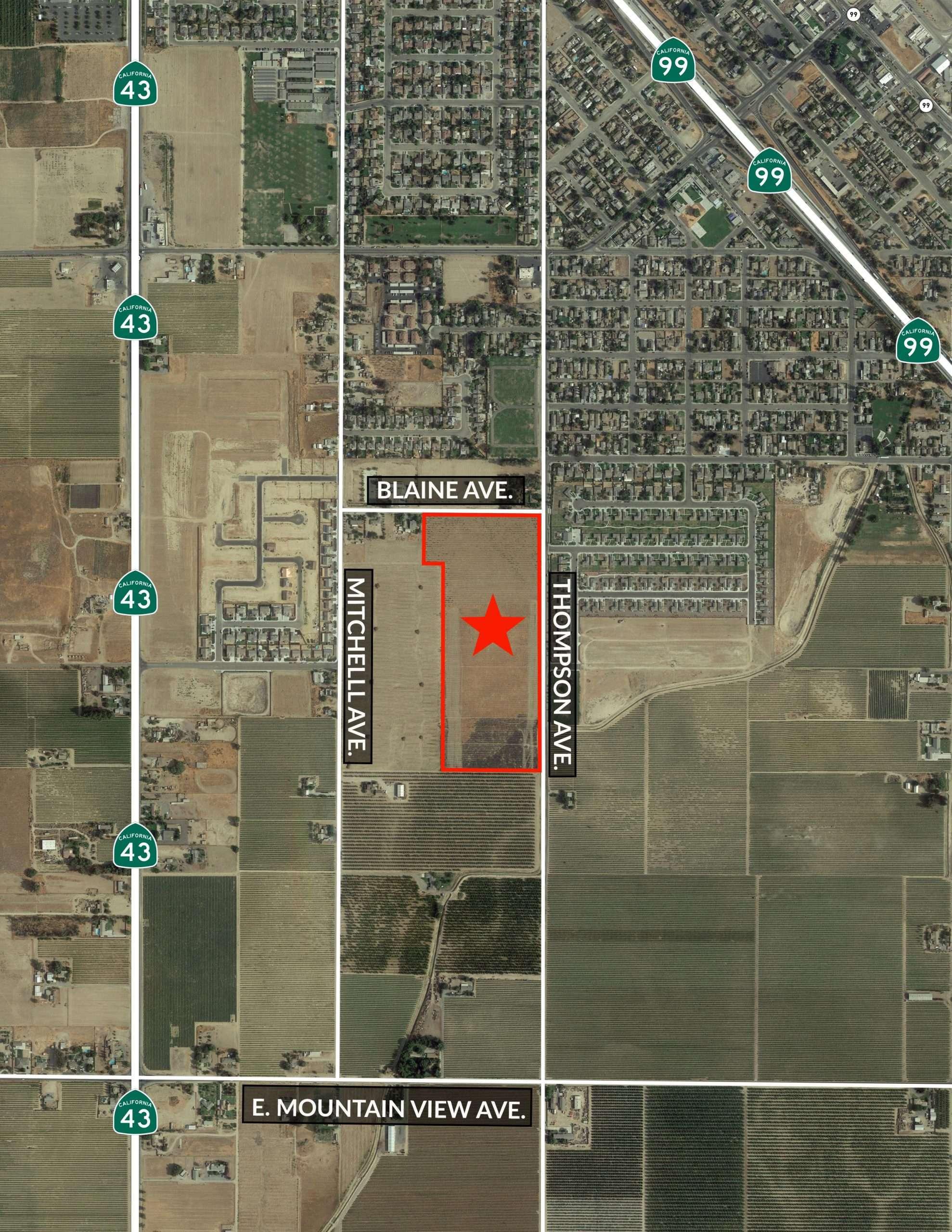 Potential Development Land – Selma, CA