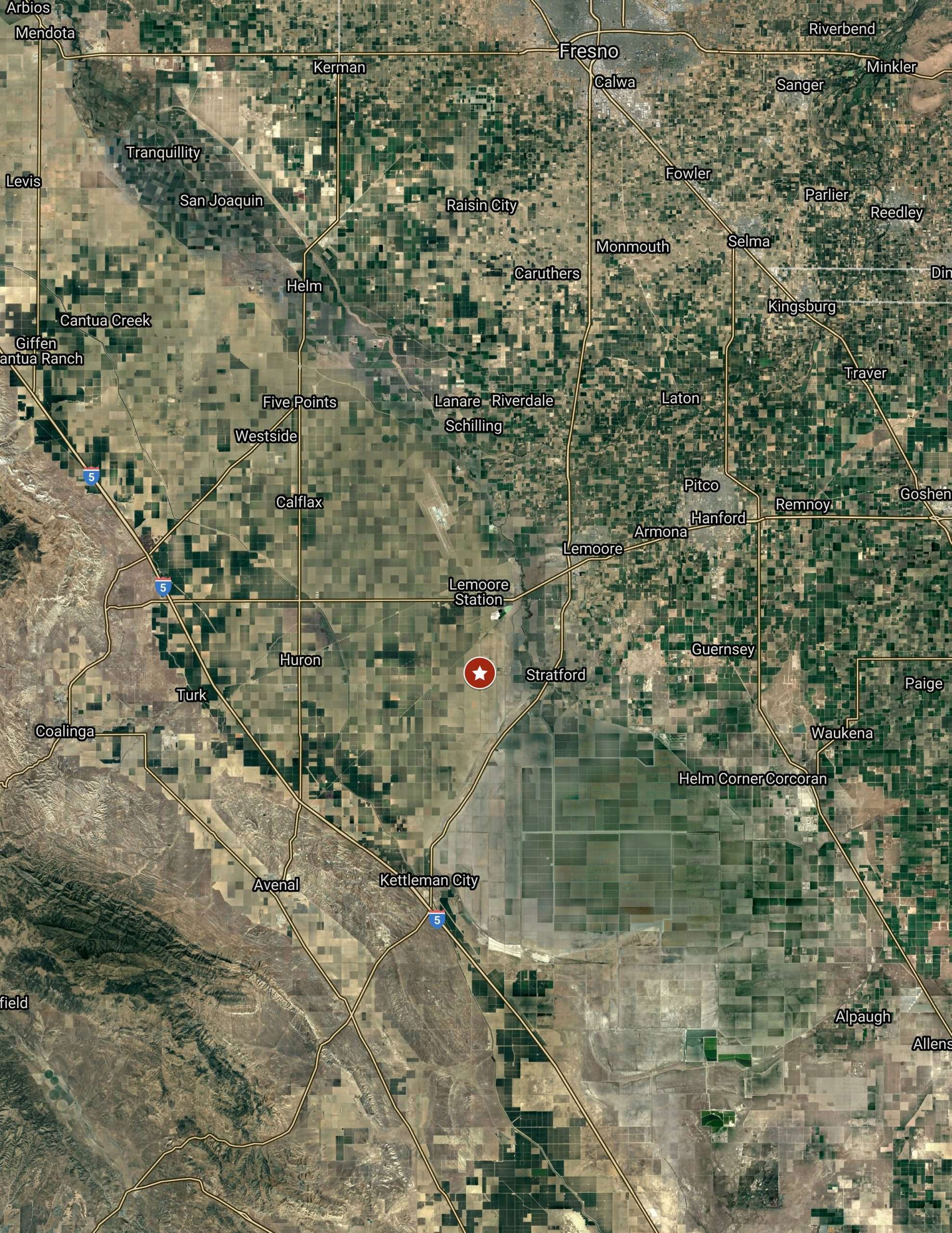 2.5 Acres – Open Land – Kings County, CA