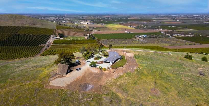 +/-20.81 Acre Hilltop Property with Home – Porterville, CA