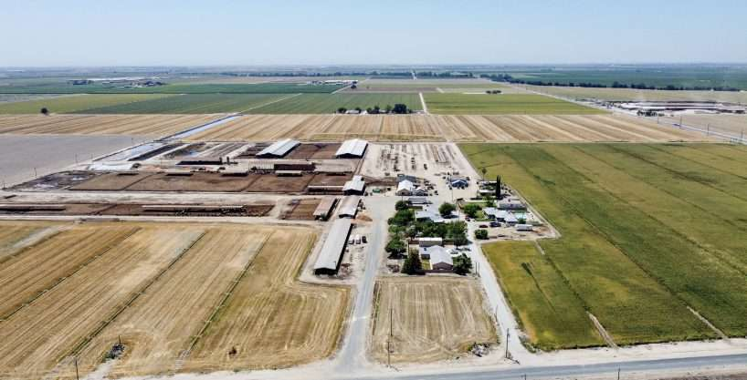 +/-261.92 Acres with Dairy – Tulare, CA