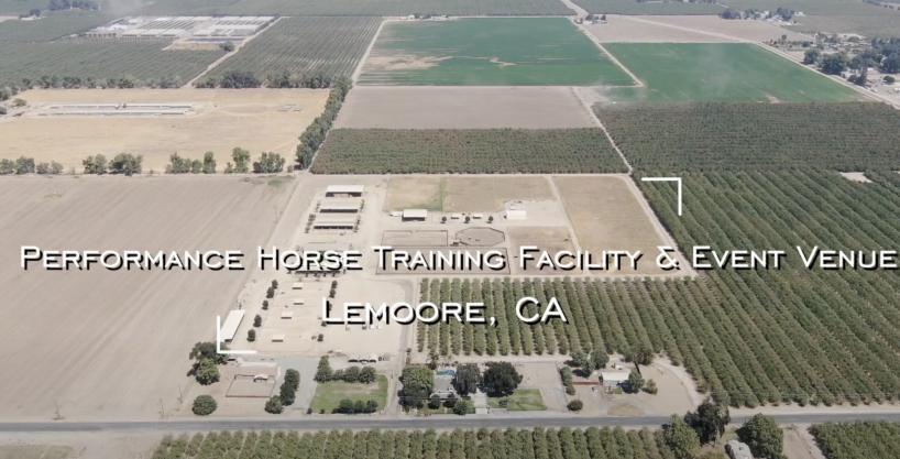+/-22.13 Acres – Performance Horse Training Facility & Event Venue – Lemoore, CA